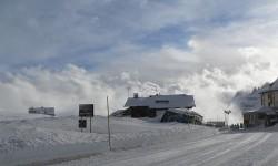 Grande route des Dolomites à Pordoi