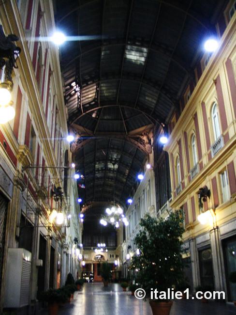 Galerie Mazzini à Gênes