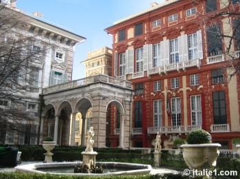 Palais Rosso à Gênes