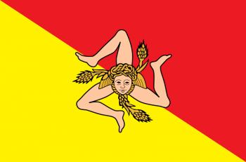 Triskèle du drapeau de Sicile