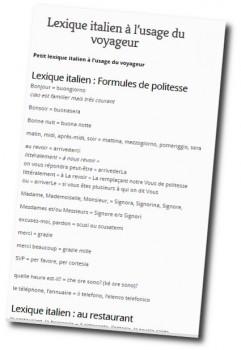 lexique-italien