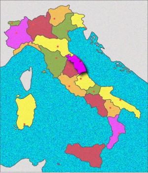 Carte des Marches