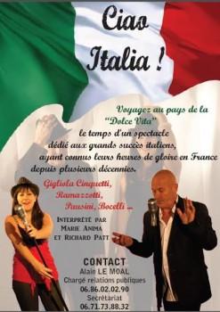 Chansons italiennes en France