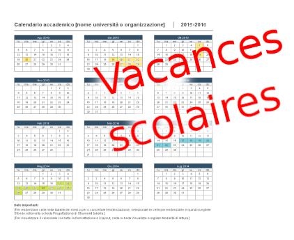 Vacances scolaires 2019 2020 en Italie italie1.com