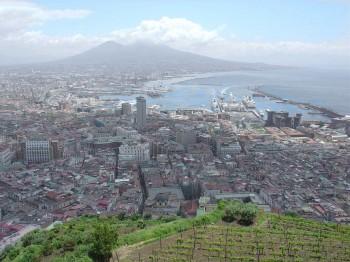 Mai des monuments à Naples