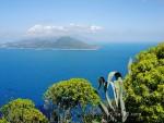 Capri vue de Sorrento