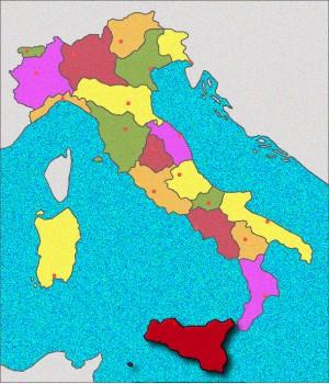 Carte de Sicile