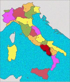 Campanie, Naples, Pompéi