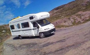 camping-car en Italie