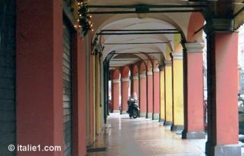 arcades à Bologne