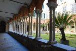 Cloître de l'église San Matteo à Gênes