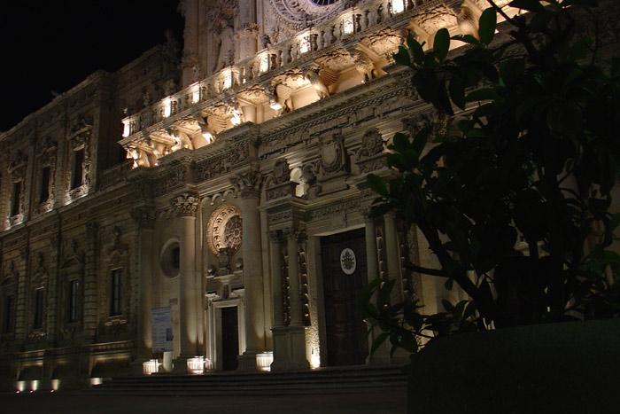 Basilique Santa Croce à Lecce