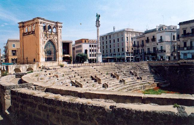 piazza Sant' Oronzo à Lecce