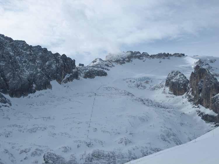 Ski à Arabba Marmolada