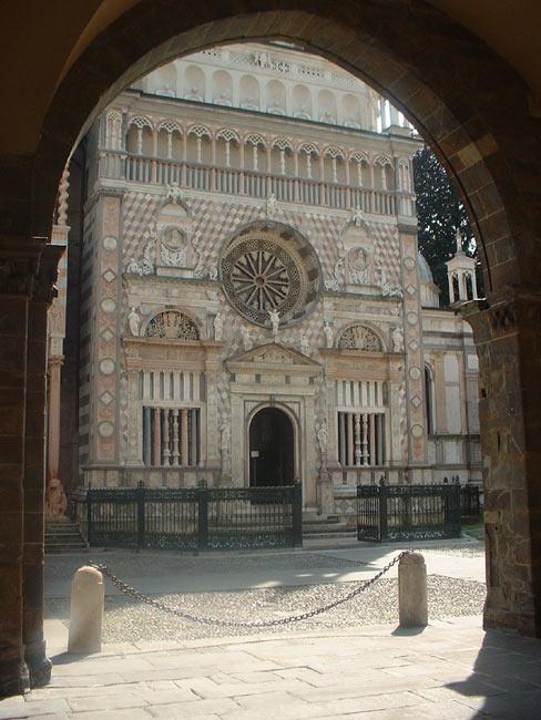 chapelle Colleoni à Bergame