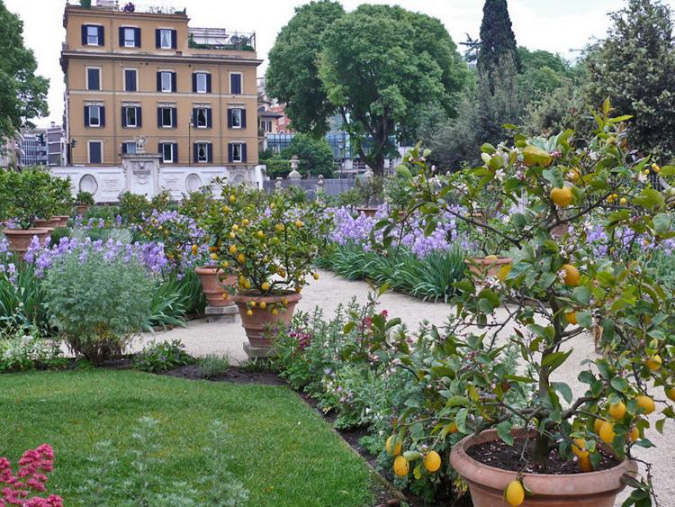 Art des jardins italiens