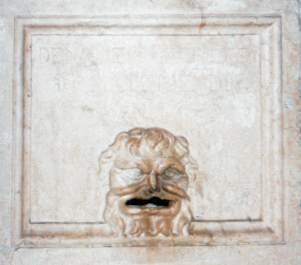 Bouche de dénonciation à Vicence