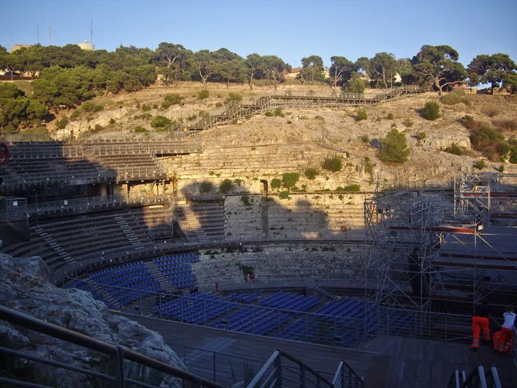 amphithéâtre de Cagliari
