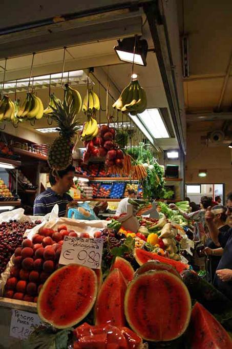 marché de San Benedetto à Cagliari