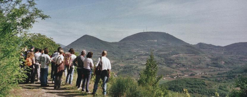 Printemps des collines euganéennes