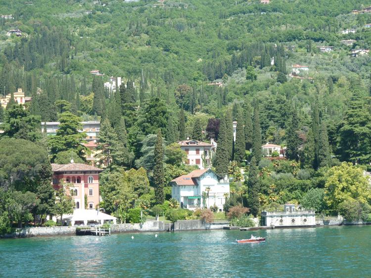 Gardone Riviera sur le Lac de Garde