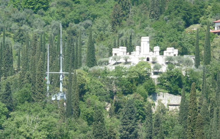 Vittoriale degli italiani à Gardone Riviera