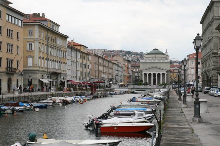 Grand Canal à Trieste