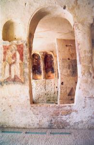 Eglise troglodytique de Matera Basilicate