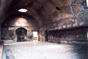 Gymnase et thermes d'Herculanum