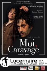 Moi, Caravage, au Lucernaire