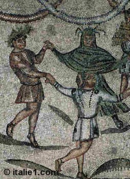 Maison aux tapis de pierre à Ravenne