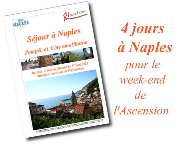 Séjour à Naples 2015