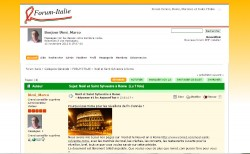 Forum Italie, Venise, Rome, Florence, Toscane