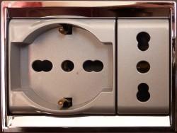 Prises électriques italie