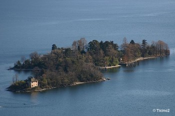 Ils Brissago sur le Lac Majeur