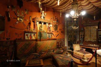 Palais d'Albertis à Gênes salon turc