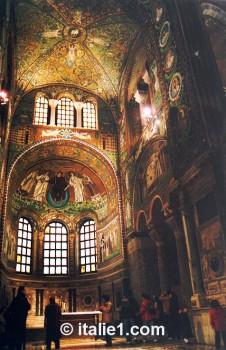 mosaïques de San Vitale de Ravenne