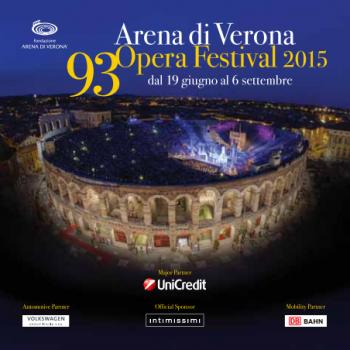 Festival des arènes de Vérone 2015