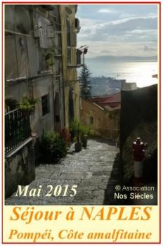 Voyage organisé à Naples 2015