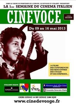 Cinevoce festival du film italien de Dijon