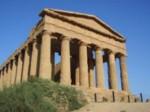 en Sicile, le Temple de la Concorde d'Agrigente