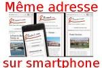 Tous nos sites sur smartphone