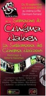 Semaine du cinéma italien de Clermont-Ferrand