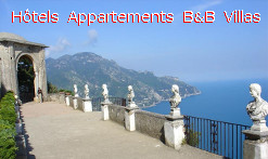 hotels Italie appartements locations