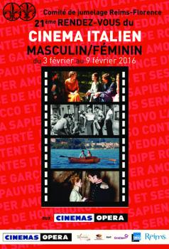 21e rendez-vous du cinéma italien à Reims