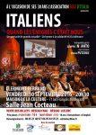 Evènements Italie en France 2016