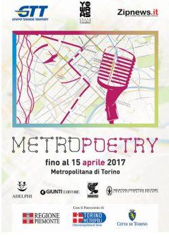 Méétro poetry métro de Turin 2017