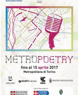 Metro Poetry dans le métro de Turin