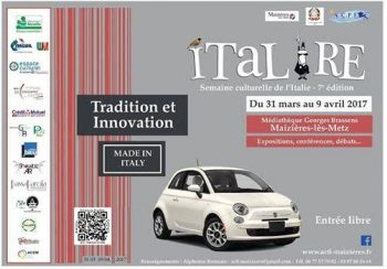 Italire 2017 semaine culturelle de l'Italie à Mazières-les-Metz (57)
