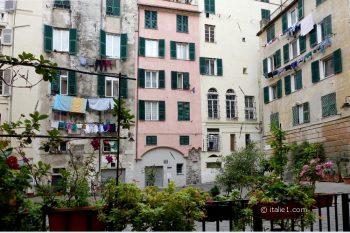 photos des caruggi de Gênes